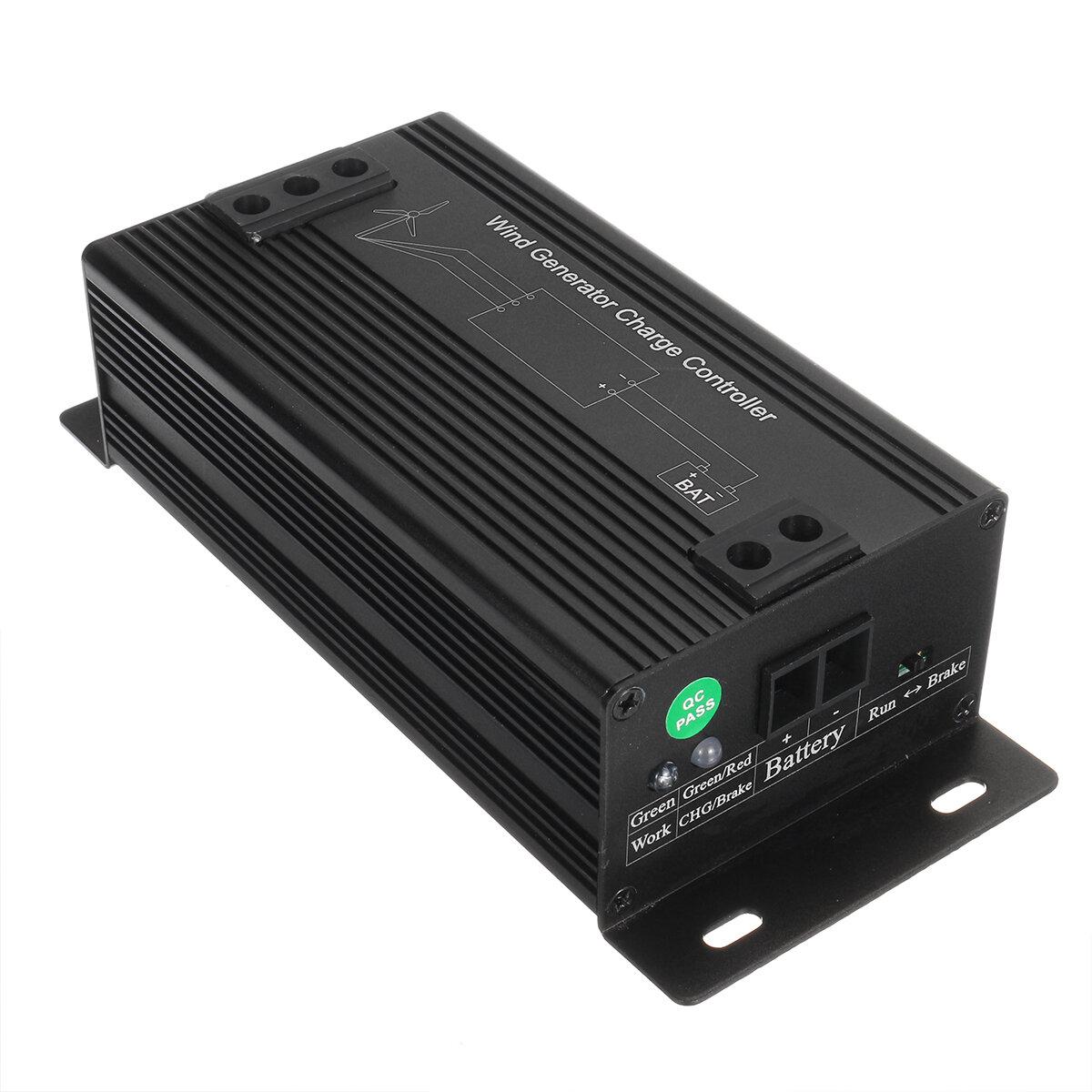 1000W 12V / 24V / 48V Generador de energía de turbina eólica automática Regulador regulador de carga Rectificador