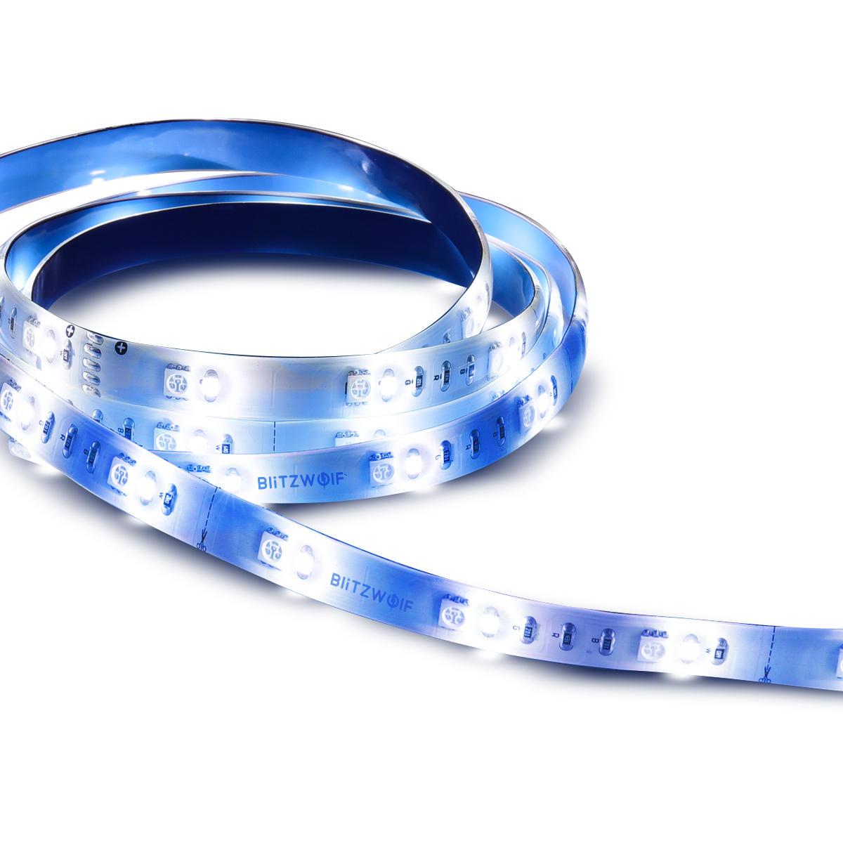 BlitzWolf® BW-LT11 DC12V 1M RGBW 60 LED Strip Light Extension Plus for BW 2M Smart LED Strip Light