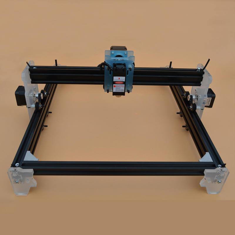 3000mW मिनी सीएनसी लेजर उत्कीर्णन प्रिंटर लकड़ी धातु पत्थर कटर अंकन मशीन