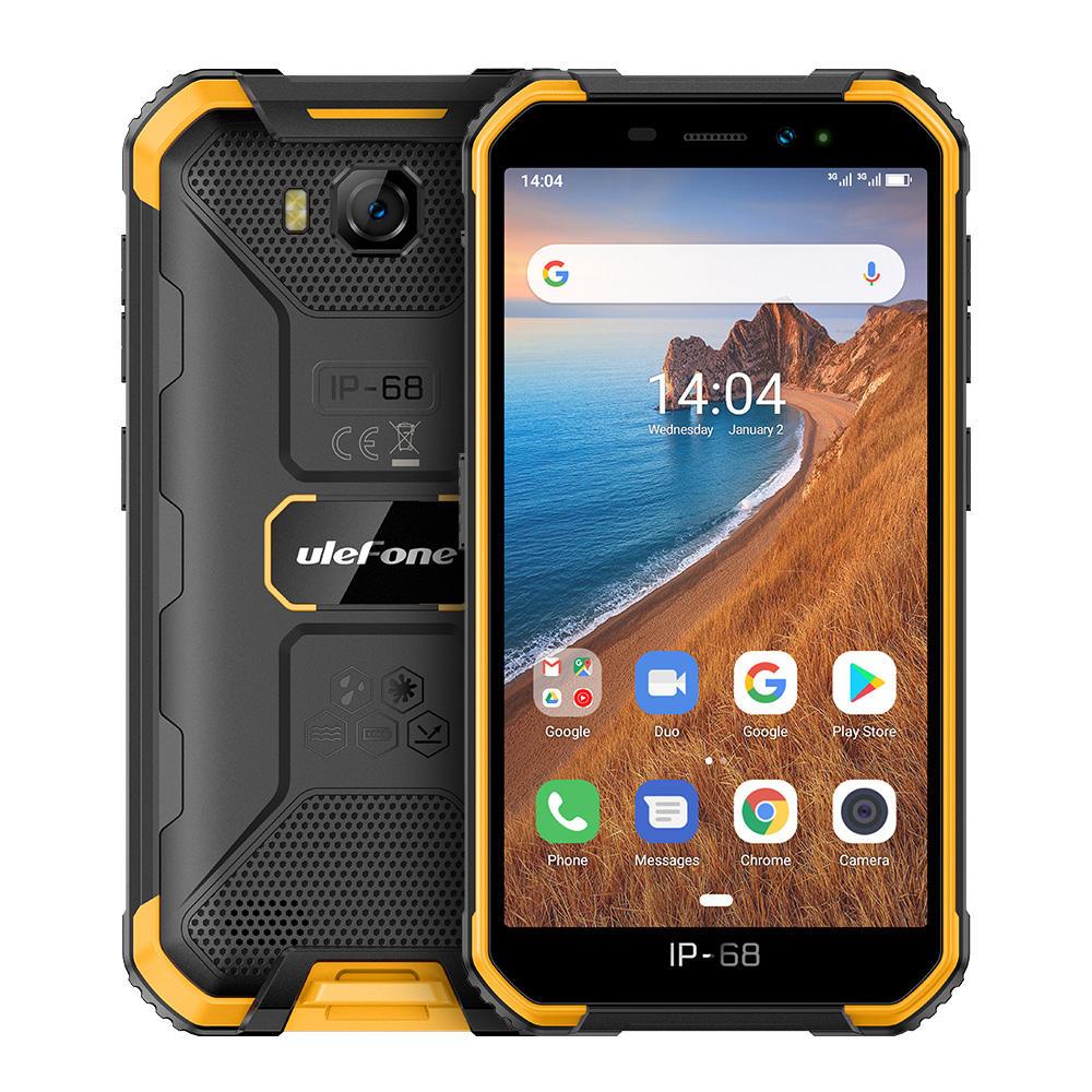 Ulefone ARMOR X6 IP68 IP69K Waterproof 5.0 inch 4000mAh 2GB 16GB MT6580 Quad core 3G Smartphone