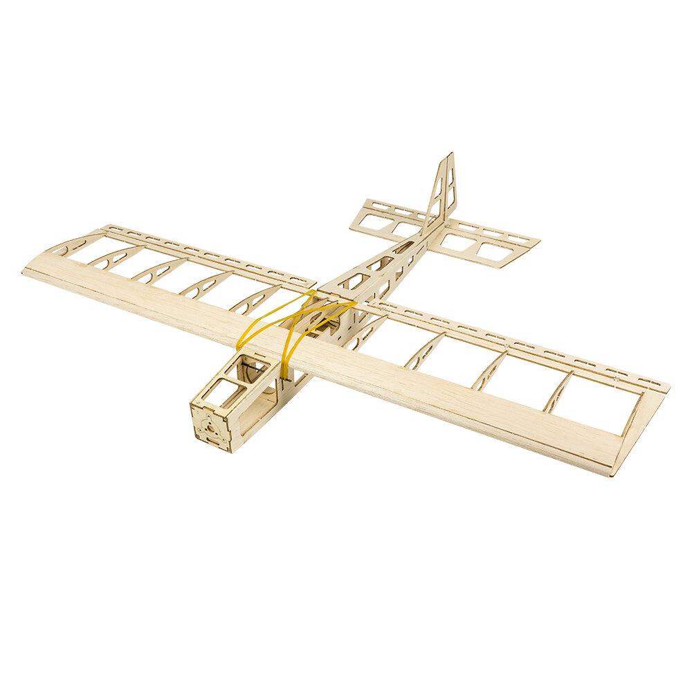 Dancing Wings Hobby R03 Mini Stick 580mm Wingspan Balsa Wood Laser Cut RC Airplane KIT/PNP