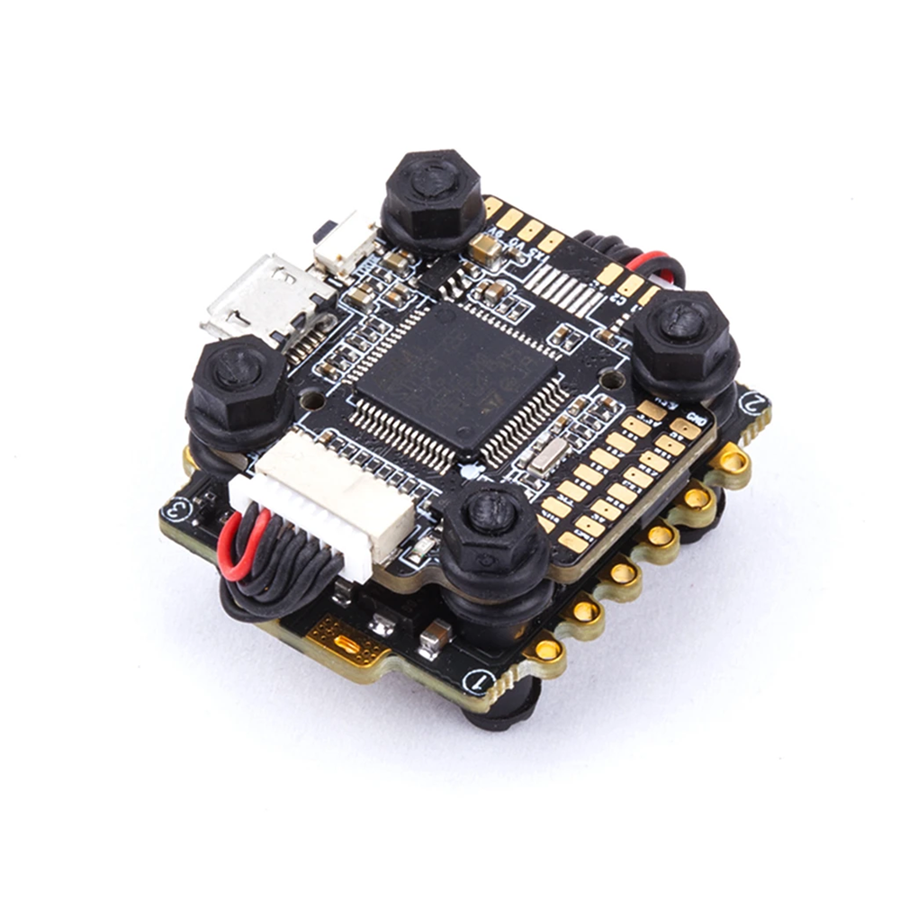20x20mm Flywoo GOKU F722Mini F7 Flight Controller & GOKU 406S 40A BL_32 2-6S ESC Stack for Cinewhoop RC Drone фото