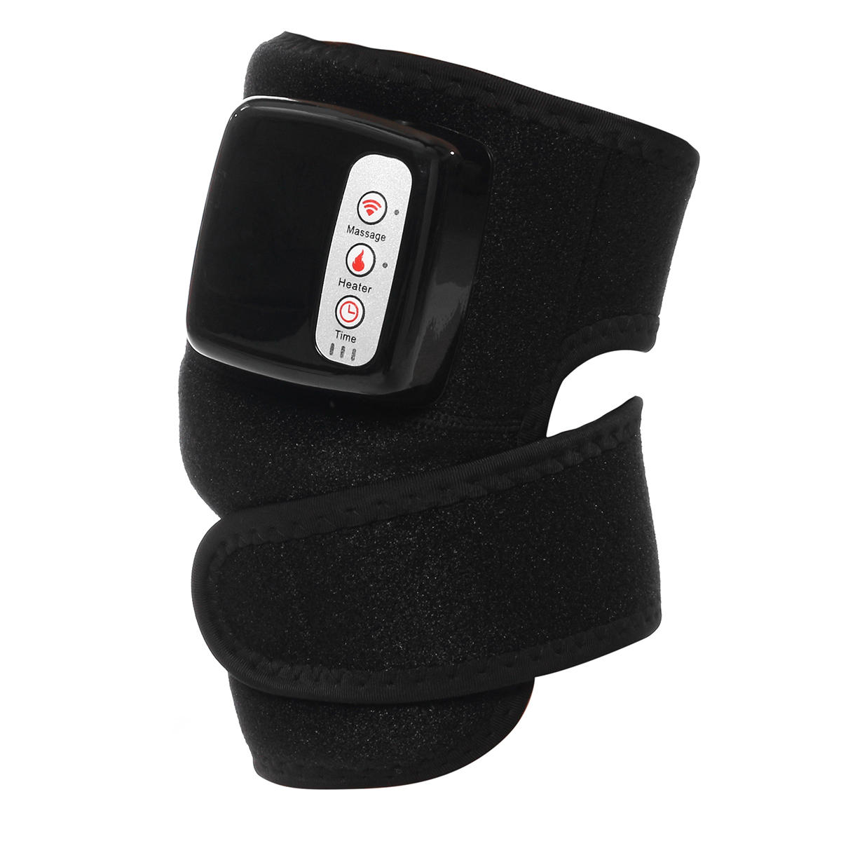 Electric Knee Joint Physiotherapy Massage Arthritis Pain Therapy Device Vibration Heating Massager Brace Care