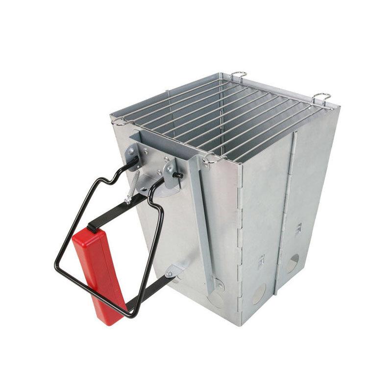 Image of IPREE Outdoor Klapp Metall Campingkocher Grill Grill Feuer Starter Holzkohle Starter Kochherd Feuerstelle
