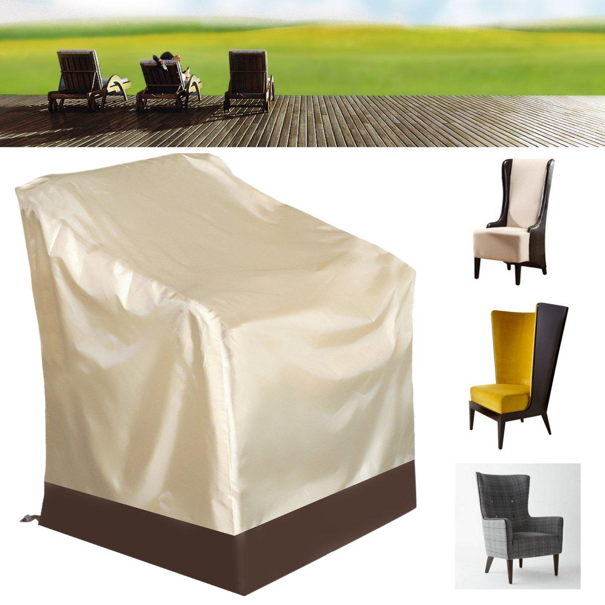 Single High Back Chair Covers Protector