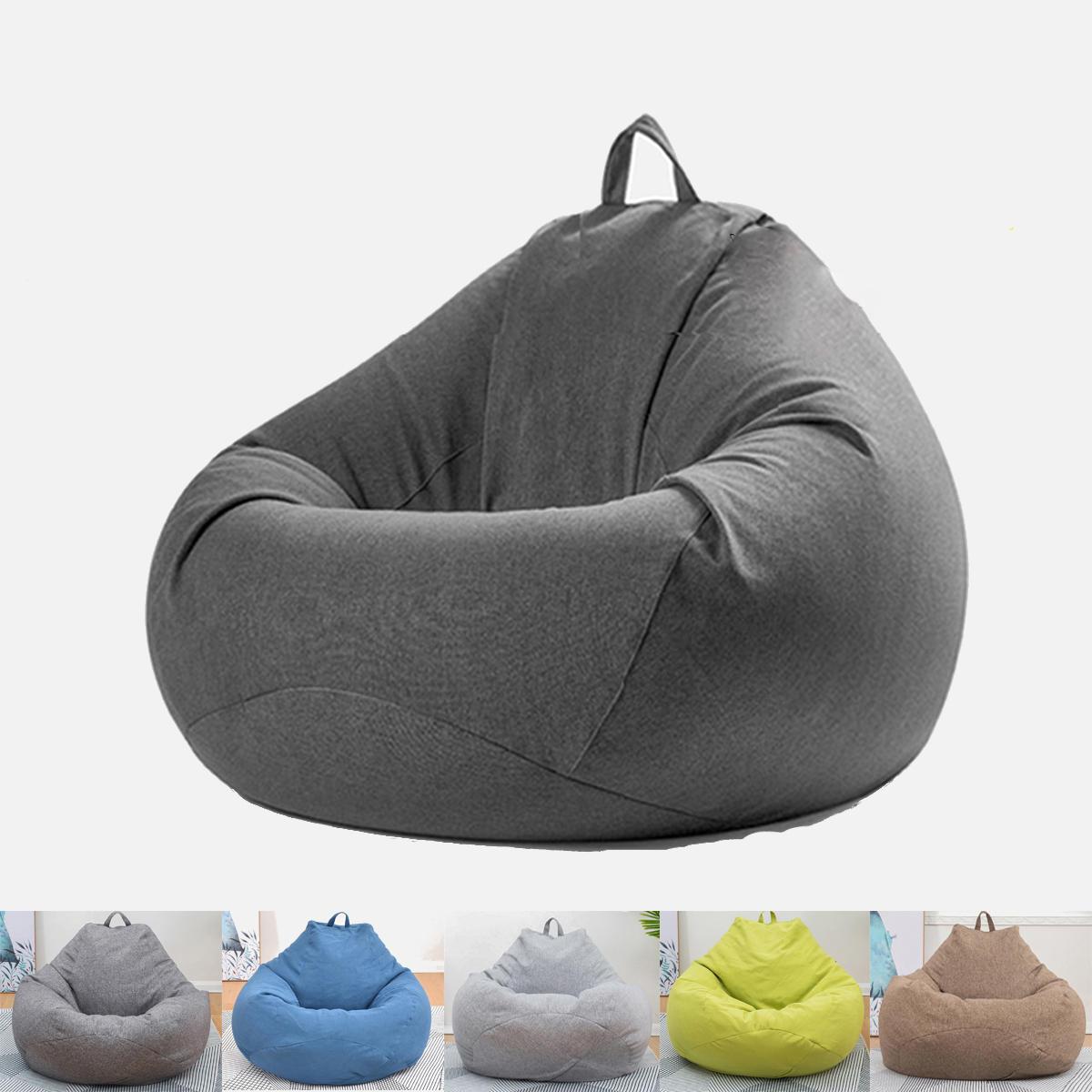 Extra grande Bean Bolsa Cadeira preguiçosa Sofa Cover Indoor Game Outdoor Seat BeanBolsa