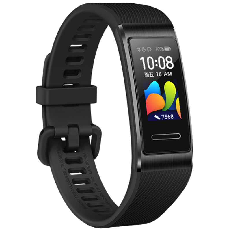 Original Huawei Band 4 Pro AMOLED Color Screen NFC SpO2 Blood Oxygen Heart Rate Monitor Fitness Tracker GPS Sport Multiple Dial Smart Watch