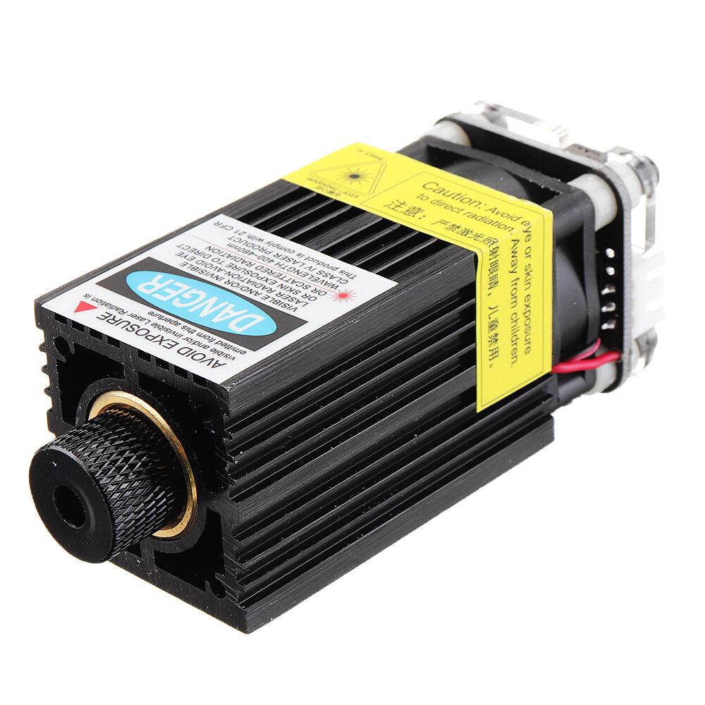 EleksMaker के लिए FB03-3000 3000mW 445nm ब्लू लेजर मॉड्यूल 2.54-3P TTL / PWM मॉडुलन DIY एनग्रेवर