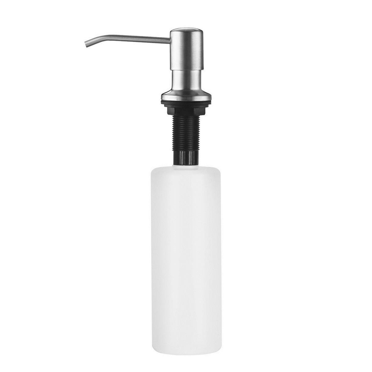 300 ml Classic Putih Dibangun Di Pompa Tekan Sabun Dispenser Kitchen Bathroom Sink Sabun Pompa Tangan Cair
