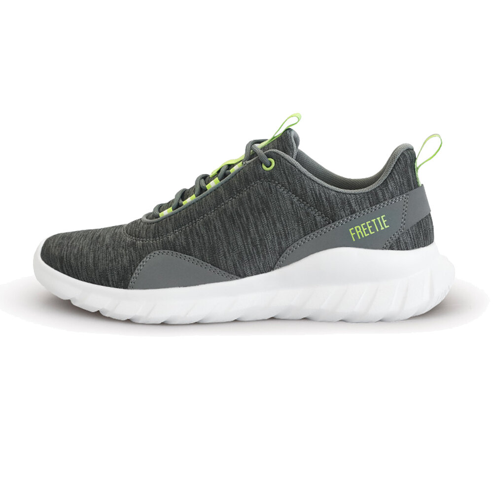 FREETIE Men Sneakers Ultralight Breathable Soft Sport Running Shoes Grey Green Warmth Thicken Winter Shoes From Xiaomi Youpin