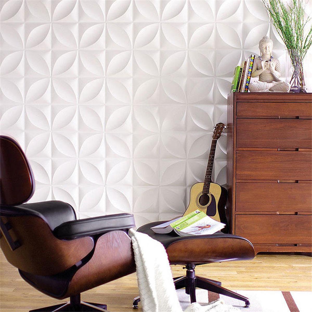 12pcs/set 3D Wall Panel Decoration Ceiling Tiles Wall paper Background Decor