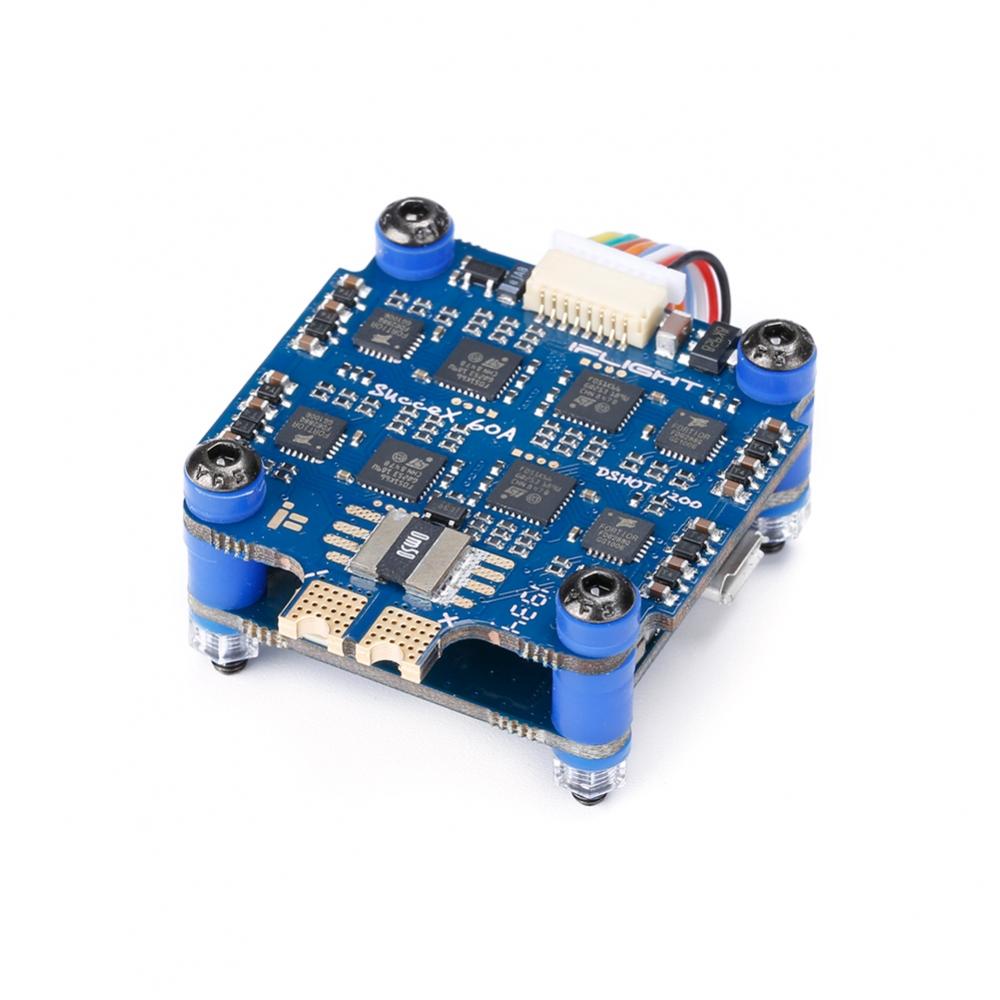 iFlight SucceX F7 V2.1 TwinG Flight Controller + SucceX 60A V2 Plus BLHeli_32 4-in-1 ESC