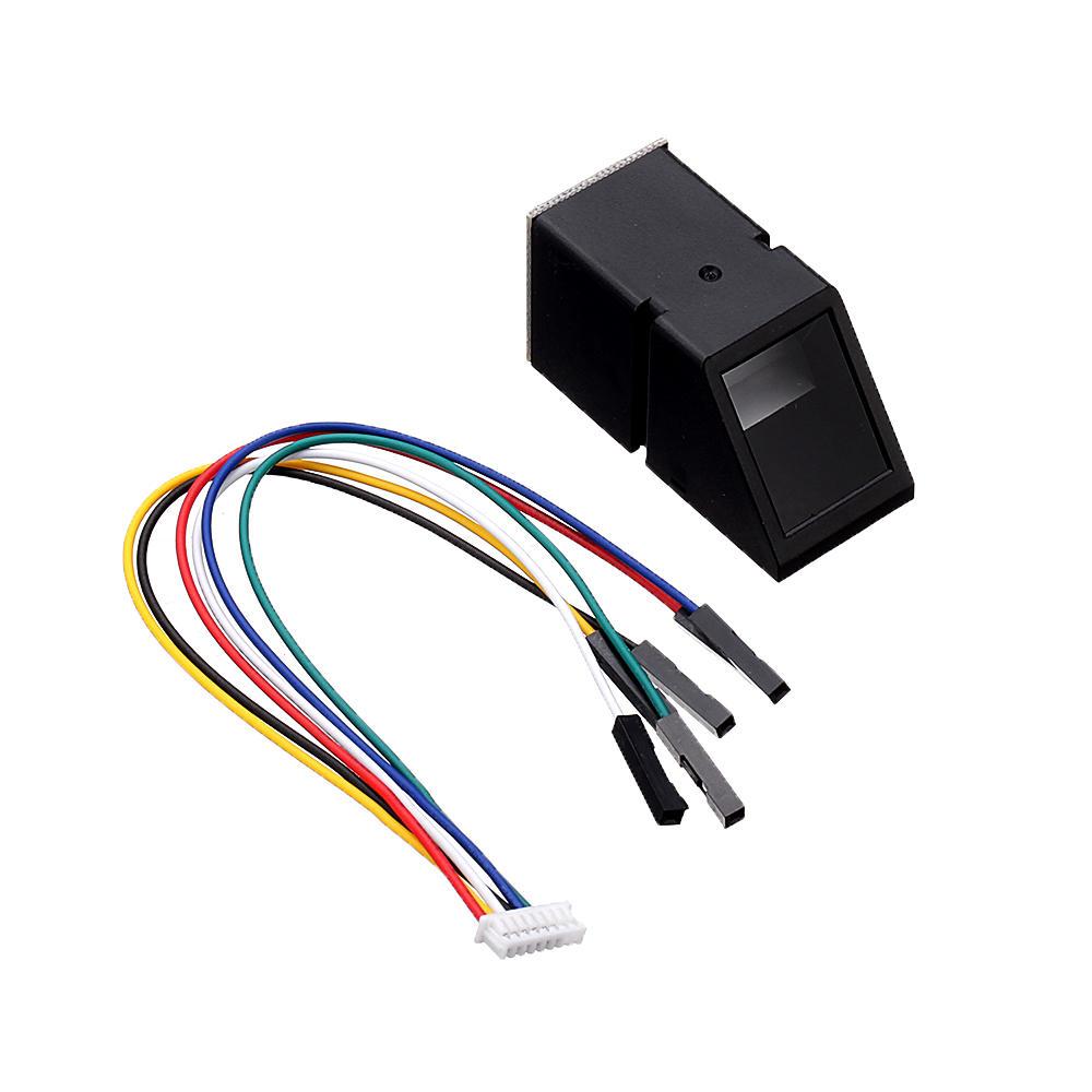 AS608 Fingerprint Reader Sensor Module Optical Fingerprint Module for Arduino Locks Serial Communication Interface