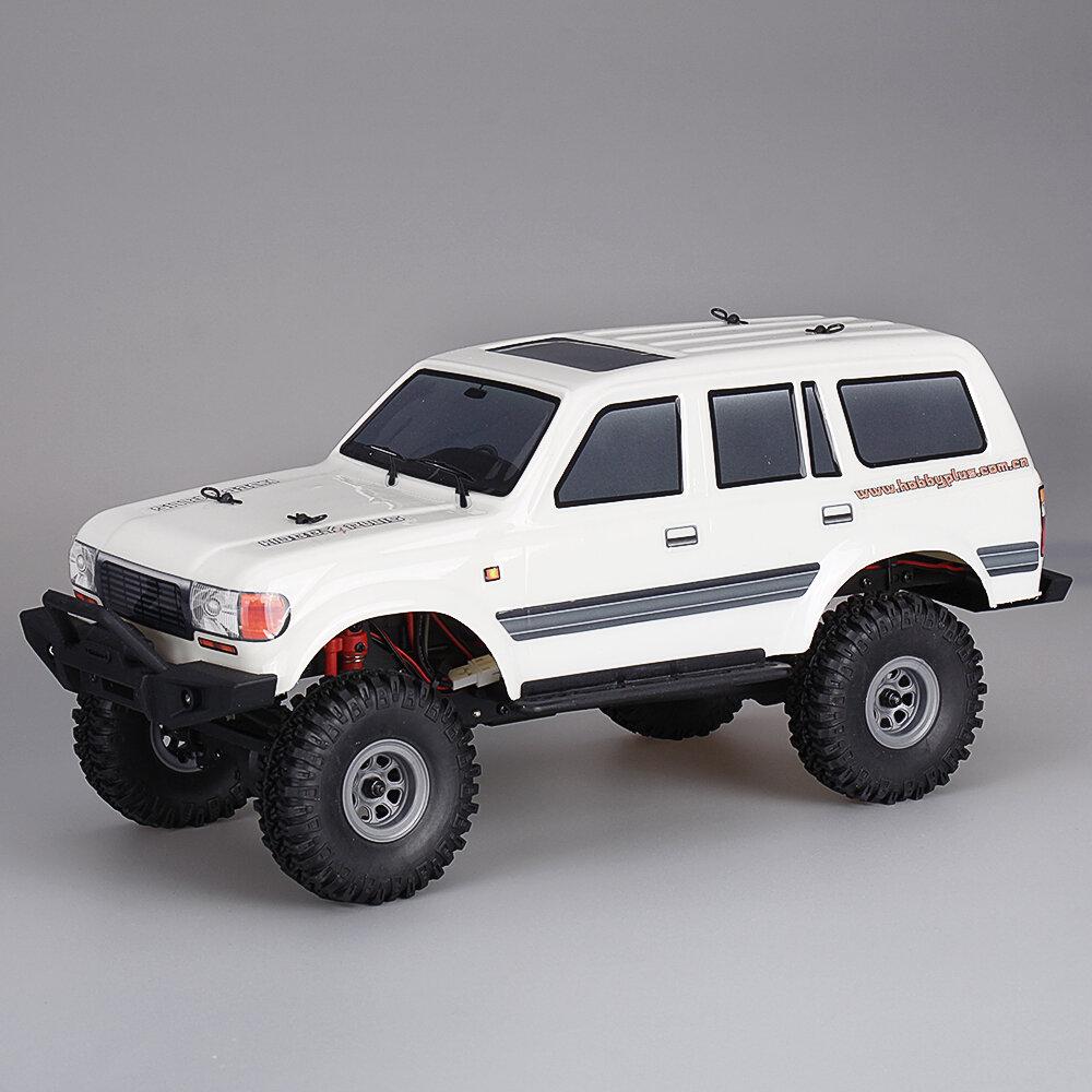 1/18 2.4G Mini Indoor Off-road Truck RC Car Waterproof ESC Motor 3Line Servo Vehicle Models Rock Crawler