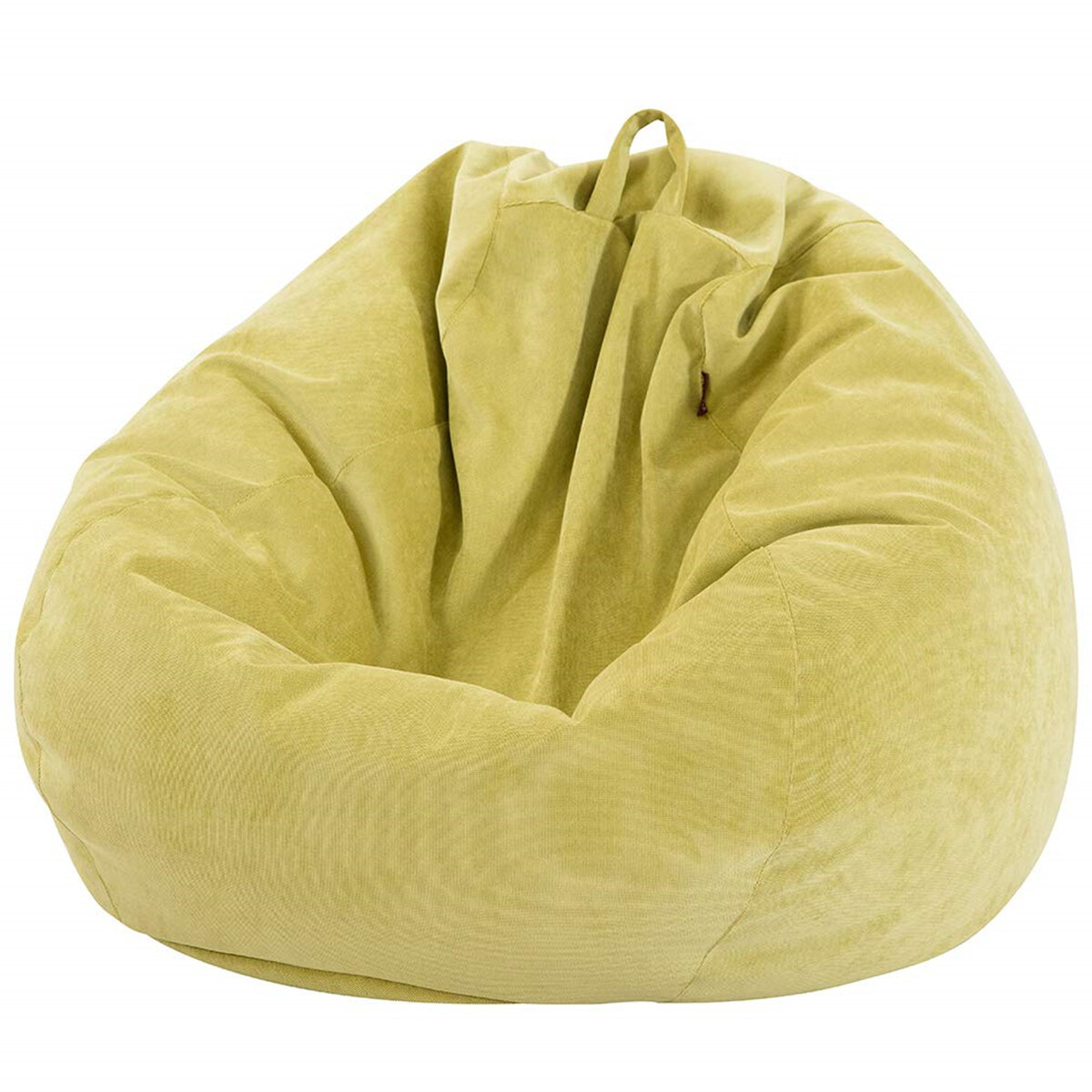 100*120cm Lazy Sofa Cover Chairs Cover with Inner Liner Warm Corduroy Lounger Seat Bean Bag Pouf Puff Couch Tatami Living Room