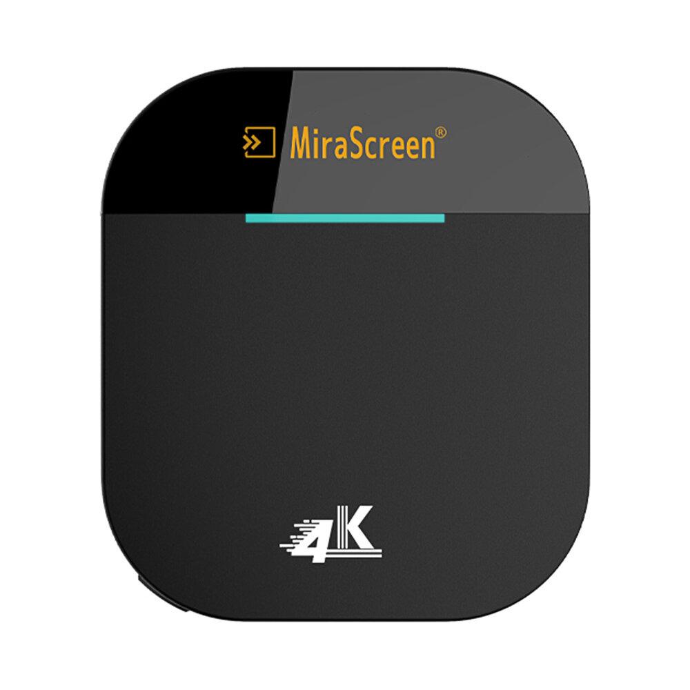 Mirascreen G5 Plus 2.4G 5G sem fio 4K HD H.265 Display Dongle TV Varanda para Air Play DLNA Miracast