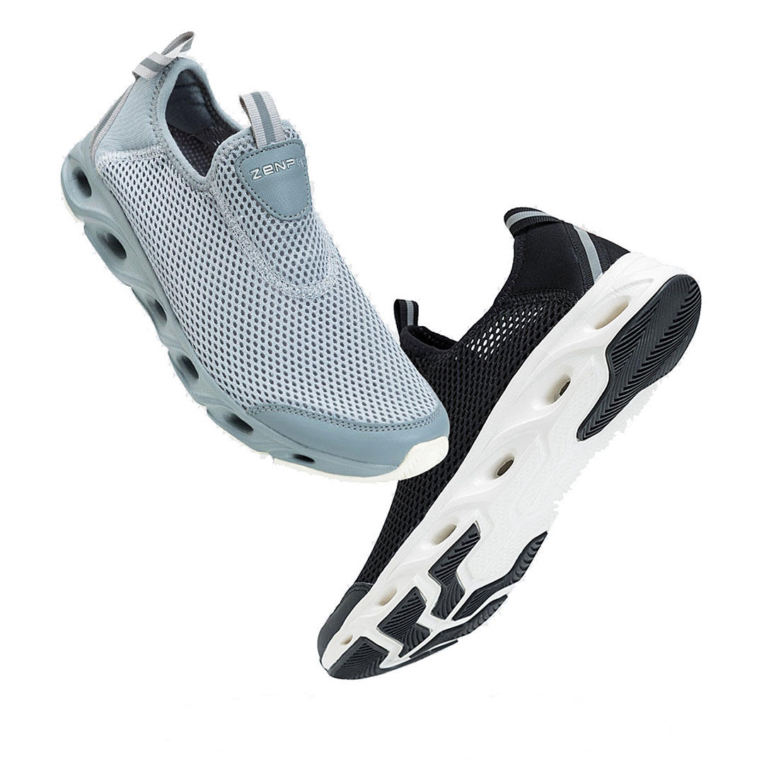 ZENPH Summer Men Sneakers Quick Drying Breathable Lightweight Sports Running Shoes Non-slip Wear Resistant Shoes From Xiaomi Youpin