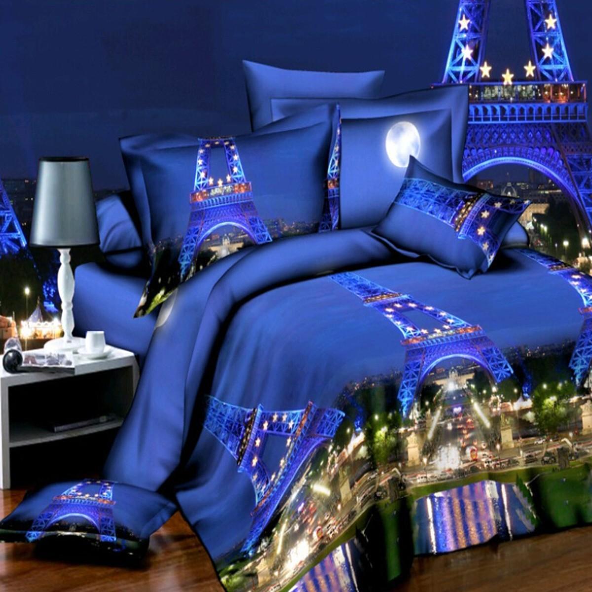4pcs 3d Duvet Covers Quilt Cover Set Bedding Sets Pillow Cover Queen King Size Bed Sale Banggood Com