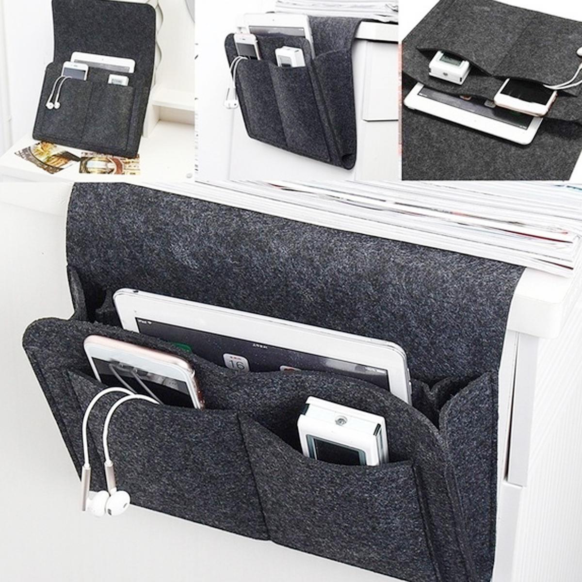 Sofa Storage Bag Remote Book Phone