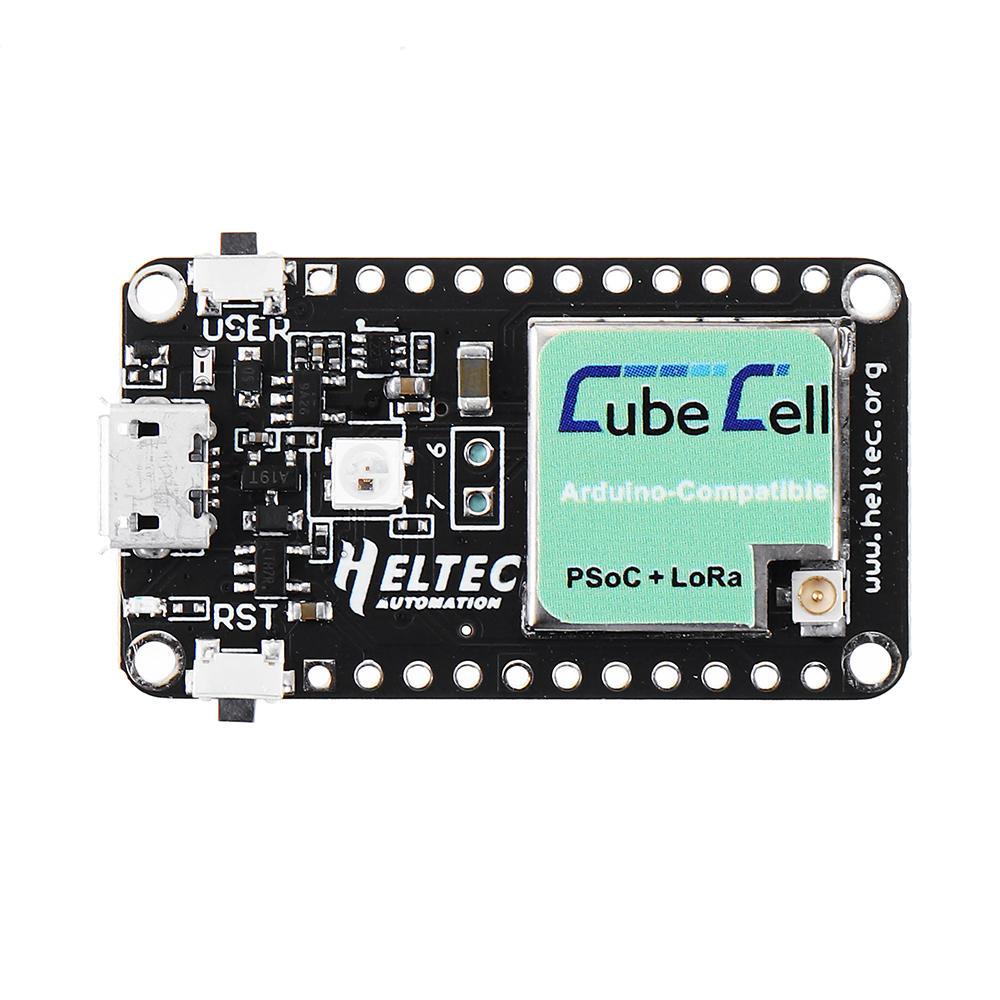 ASR6501 SX1262 LoRaWAN LoRa Node Development Board CubeCell Module Wifi 433MHz / 470-510MHz / 863-870MHz / 902-928 MHz For Arduino
