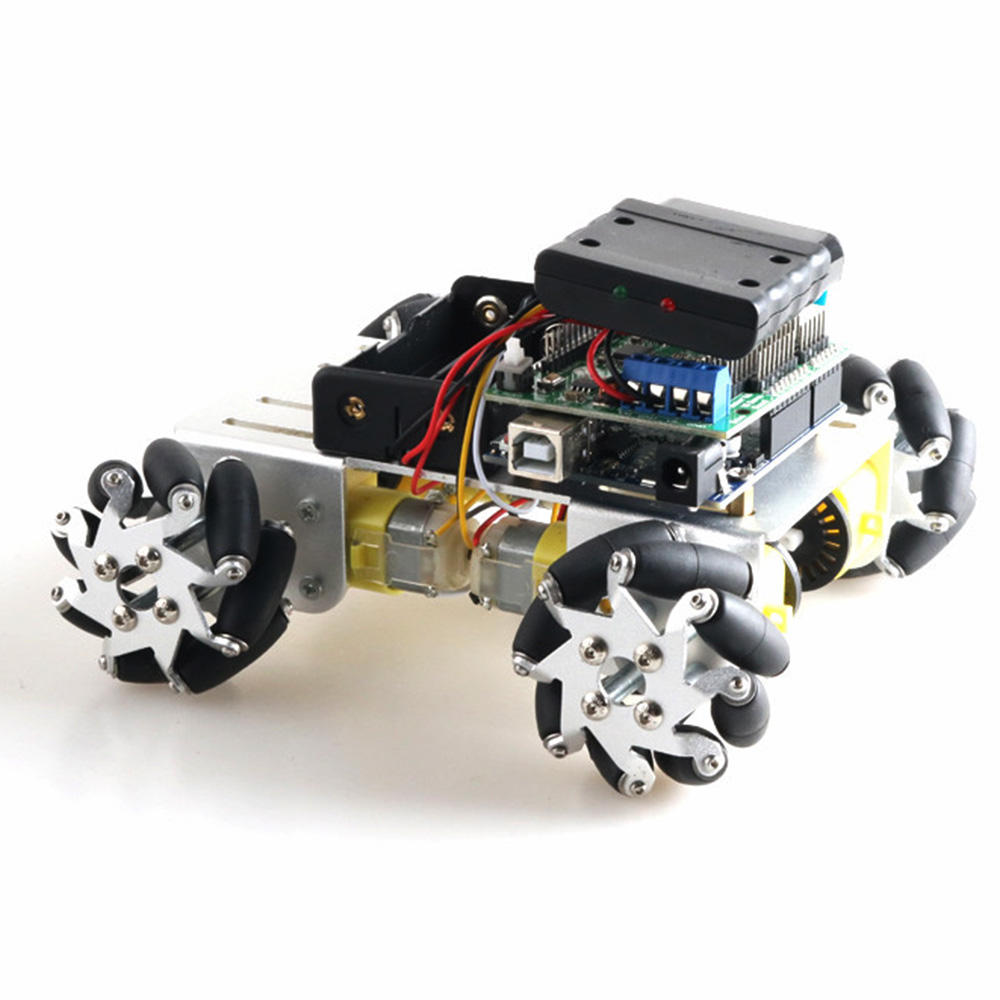 DOIT DIY 1:48 Smart Robot Car Wifi/Bluetooth/Stick Control With 50mm Omni Wheels