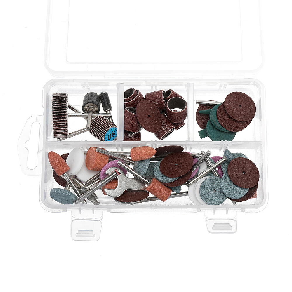 90Pcs Electric Grinding Head Rotary Accessory Polishing Cutting Abrasive Tool For Wood Metal