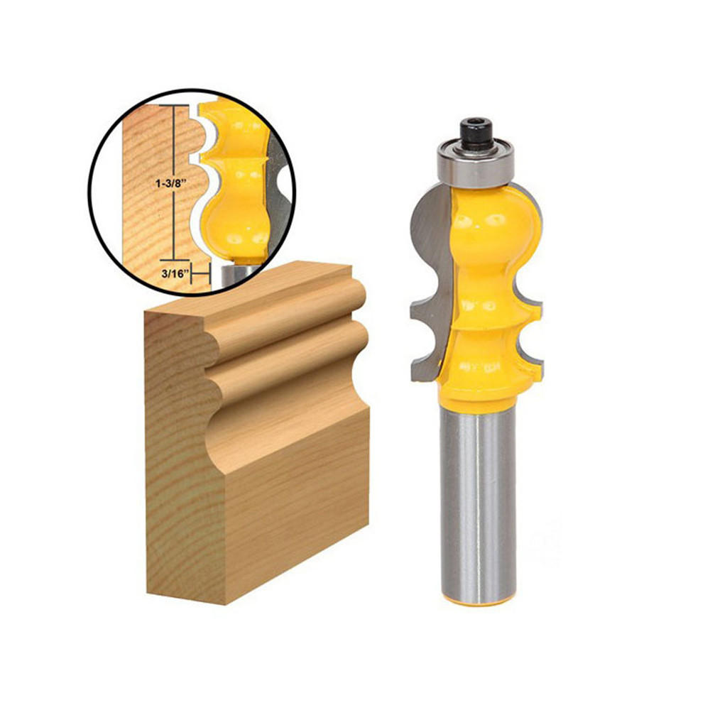 1//2inch Shank Woodworking Molding Router Bit Milling Cutter Tool