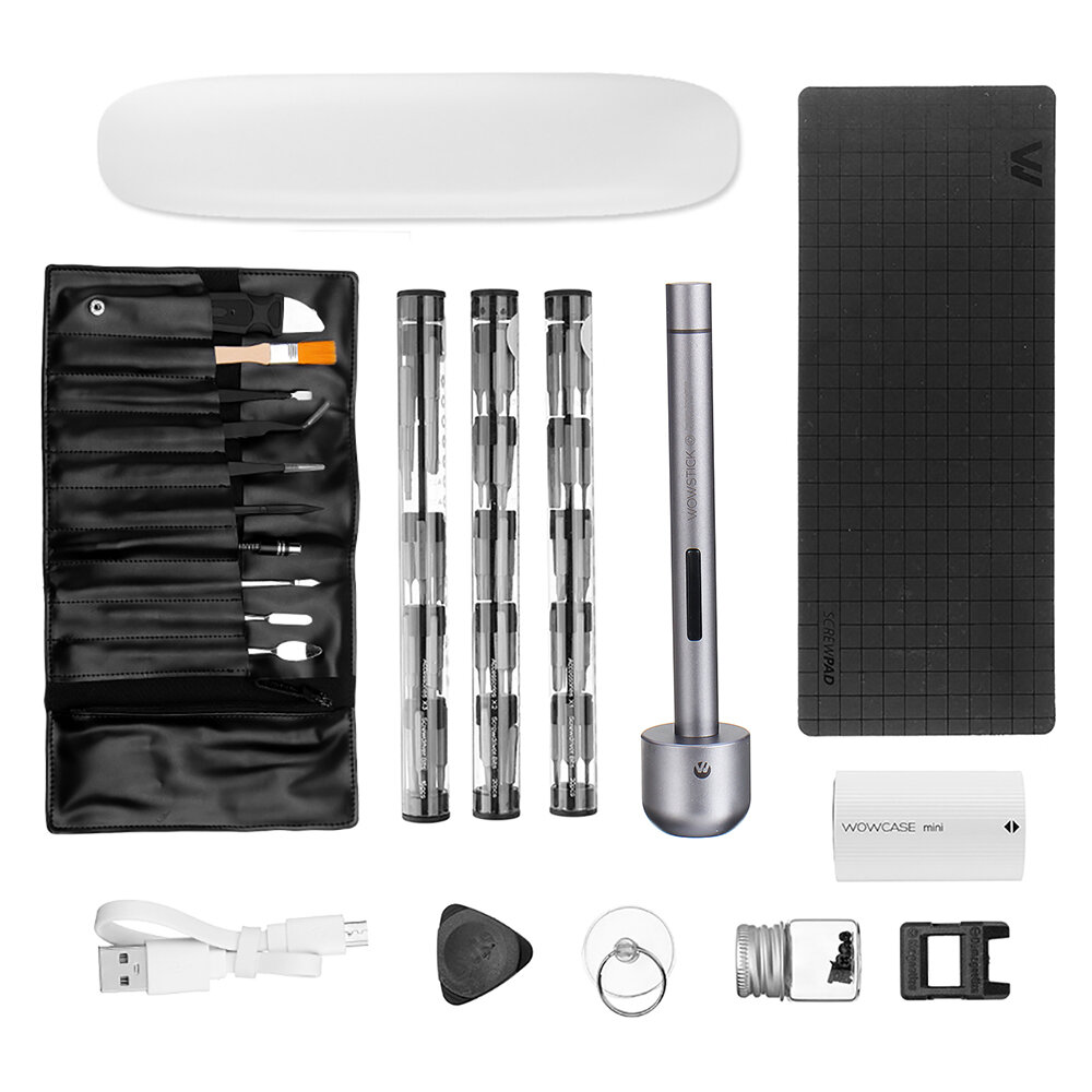 Wowstick 1+ Precision Electric Skruvmejsel Sats Sladdlösa DIY Repair Tools Kit