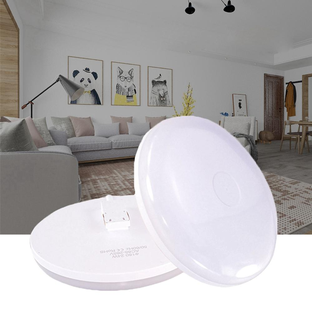 Modern 9W 13W 18W 24W 36W LED Ceiling Light Surface Mounted Panel Lamp AC85-265V For Home