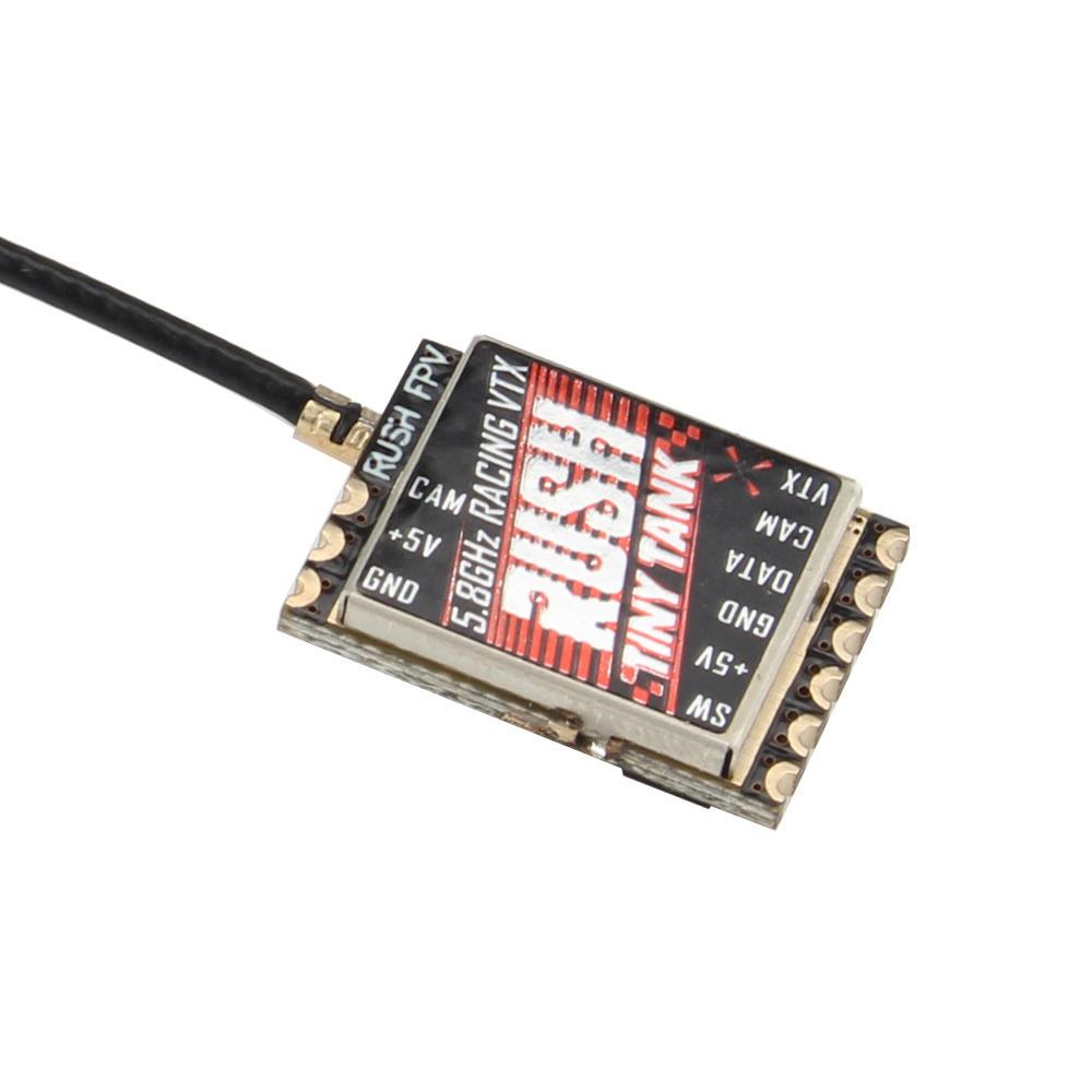 Rush Tiny Tank Mini 48CH 5V PIT/25/100/200/MAX 350mW TBS Smart Audio FPV Transmitter for RC Racer Drone