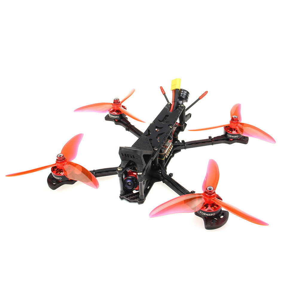 HGLRC Sector 5 V2 FPV Racing Drone 6S BNF F7 Dual Flight Control 60A 4in1 ESC 2306 Motor