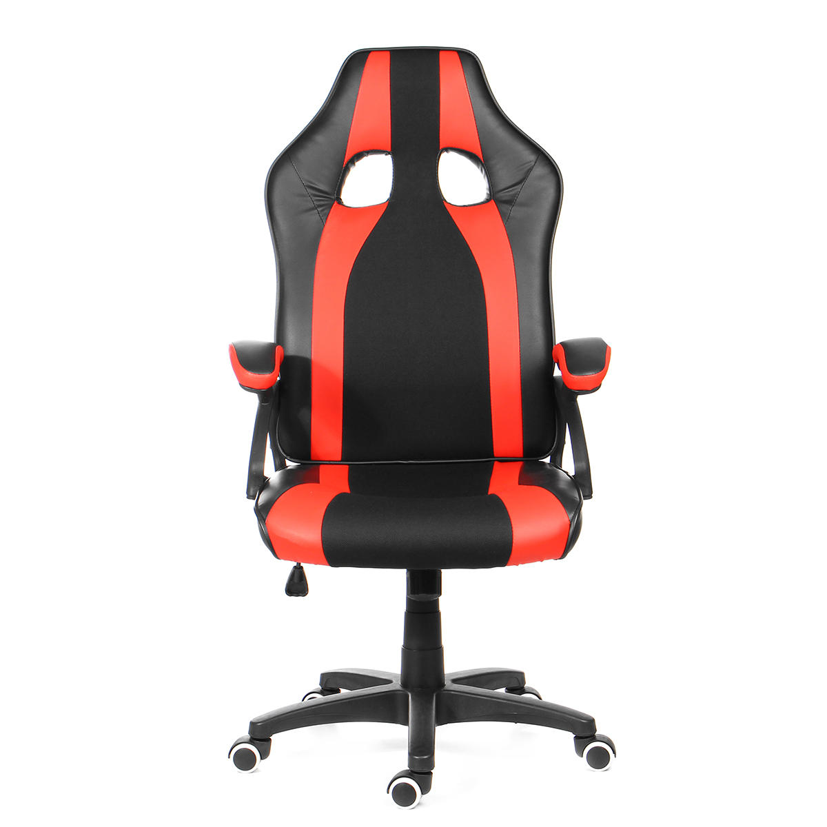 Ergonomic Adjustable Leather Office Chair High-Back Gaming Chair Swivel Reclining Executive Laptop Desk Chair