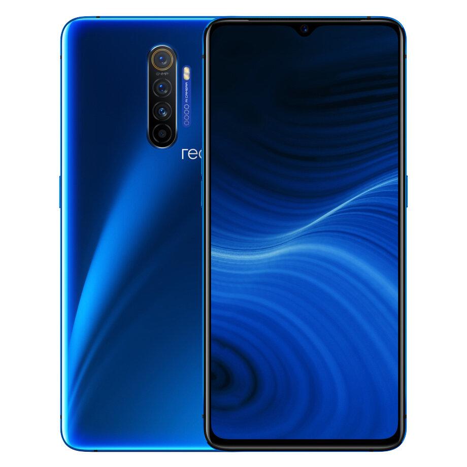 Realme X2 Pro Global Version 6.5 inch FHD+ 90Hz Fluid AMOLED Display HDR10+ NFC 4000mah 50W Super VOOC 64MP Quad Cameras 8GB 128GB UFS3.0 Snapdragon 855 Plus Octa Core 4G Smartphone