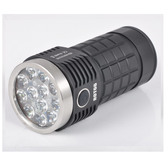 Fireflies ROT66 Generation II SST20/ Nichia/ XPL HI/ Osram 7000~10000Lumens + 45 degree TIR lens EDC LED Flashlight