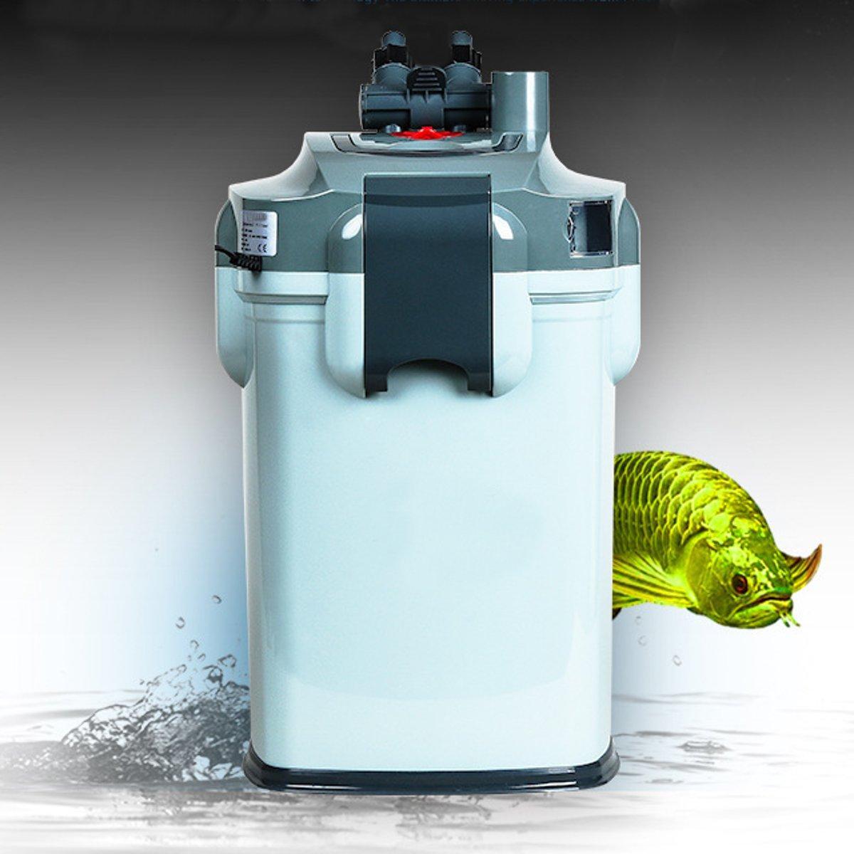 Biopro Aquarium External Canister Fish Tank Water Filter 1800 LPH + Aqua Sponge