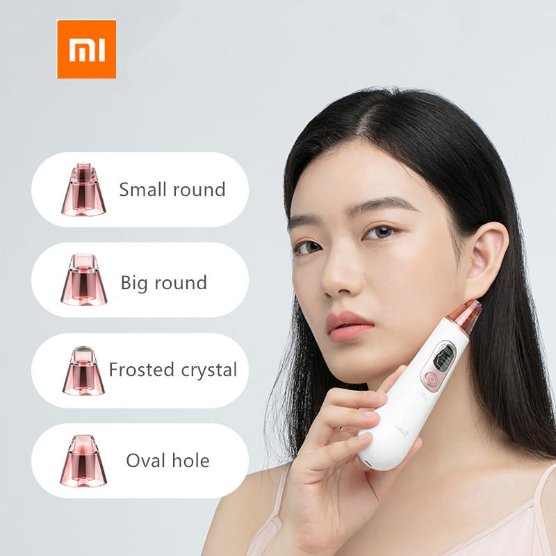 Wellskins Electric Blackhead Cleaner Apparatus to Blackhead Cosmetology Apparatus to Wash Pore Cleaner Beauty Machine From Xiaomi Youpin