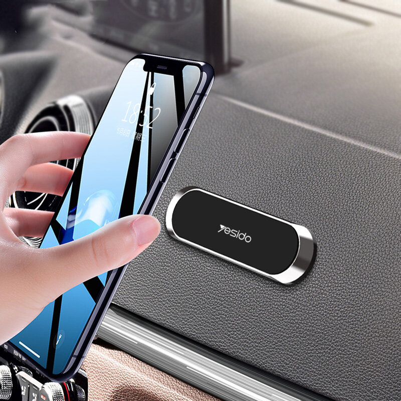 Yesido Mini Magnetic Dashboard Car Phone Holder Car Mount For 4.0-6.5 inch Smart Phone