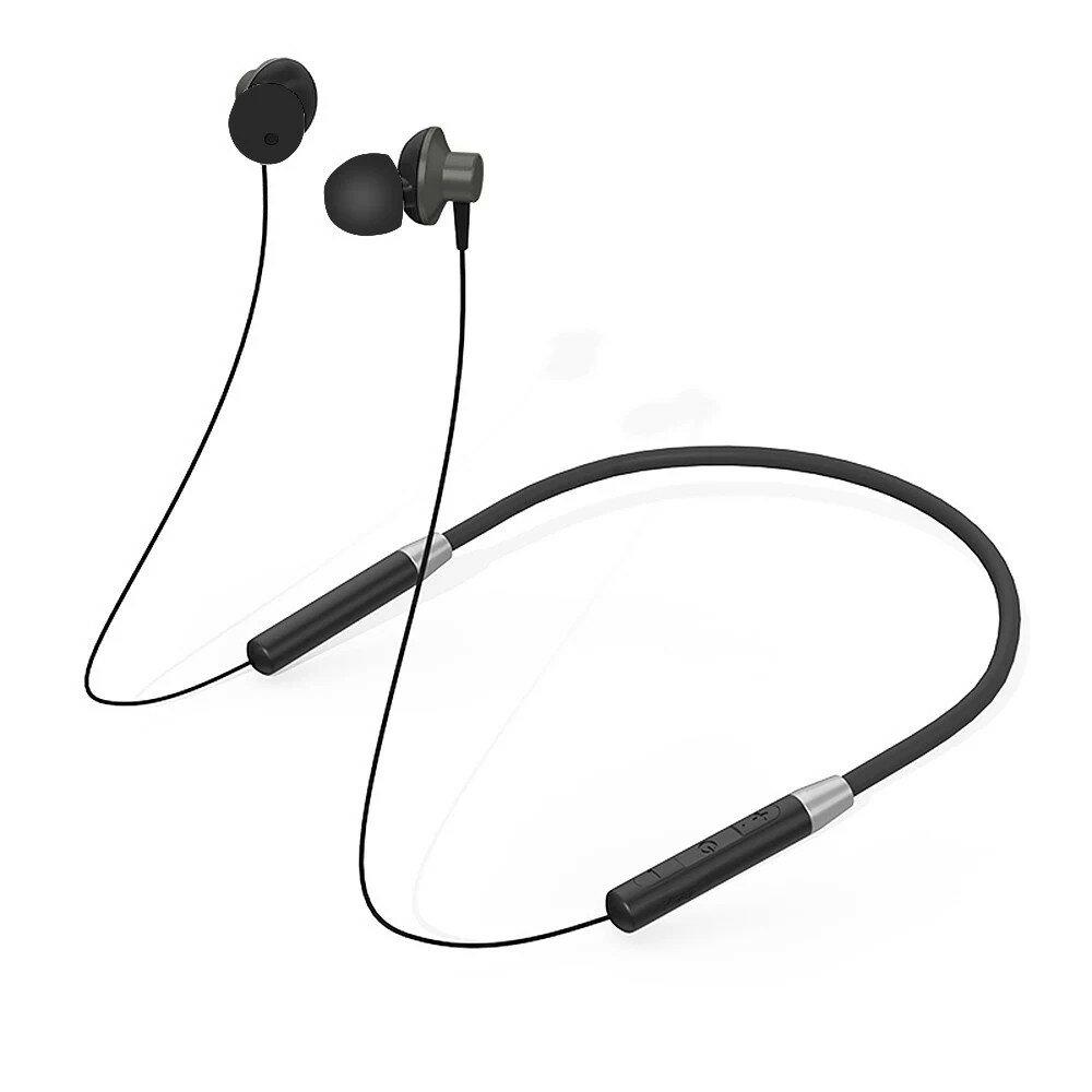 Lenovo bluetooth Magnetic Neckband Headphones IPX5 Waterproof Wireless Sport Earphone Noise Cancelling Headset with Mic