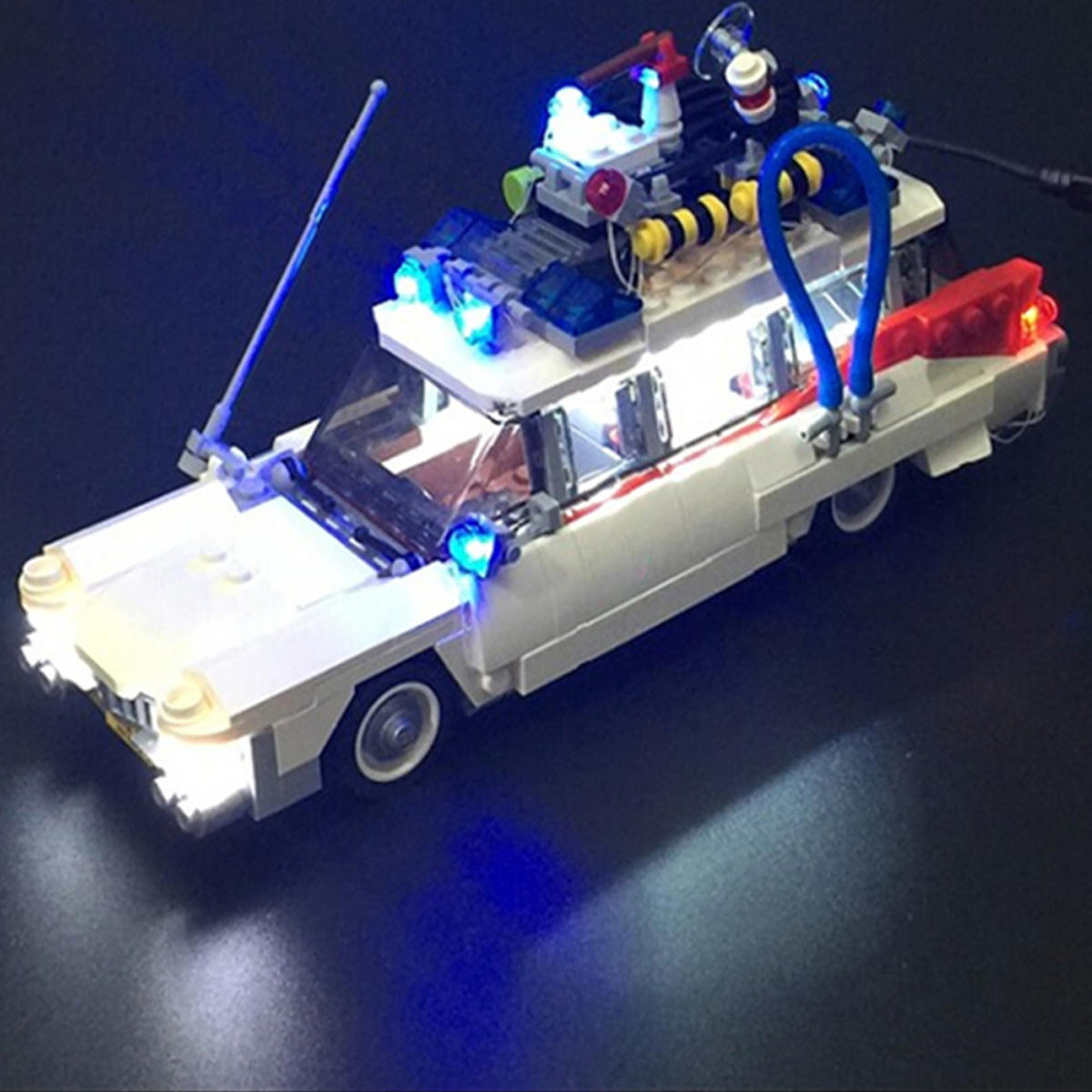 LED Light ONLY For Lego 21108 Ghostbusters Ecto-1 Lighting Bricks USB Interface