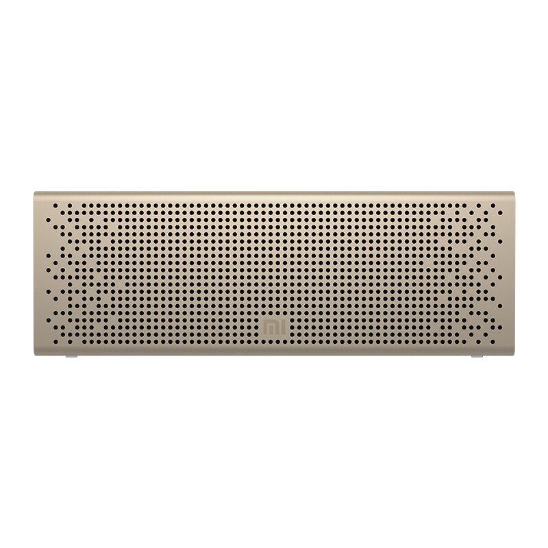 Original Xiaomi Wireless bluetooth 5.0 Speaker Xiaoai Version Portable Xiaomi Square Box Speaker Metal Dual Units Stereo Subwoofer with Mic