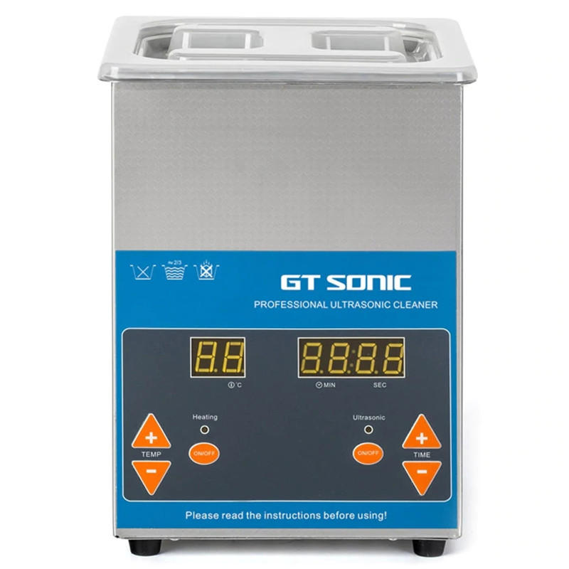 GT Sonic VGT-1620QTD Professional Ultrasonic Cleaner Washing Precision Parts Cleaning Equipment - Silver