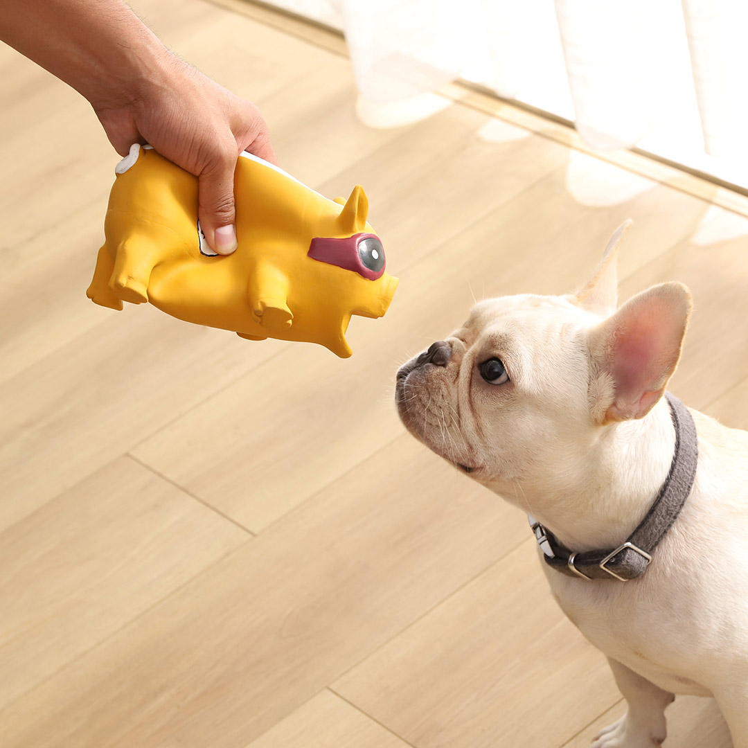 Dog Toys Squeaky Squeeze Sound Toy Ball Training Funny Interactive Rubber Chew Balls For Pet Products Dog Supplies From Xiaomi Youpin