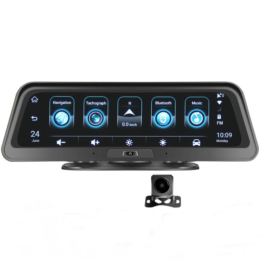 android E98 10 Inch Car DVR 4G ADAS Dash Camera Rearview Mirror Camera GPS WiFi Parking Monitor Recorder