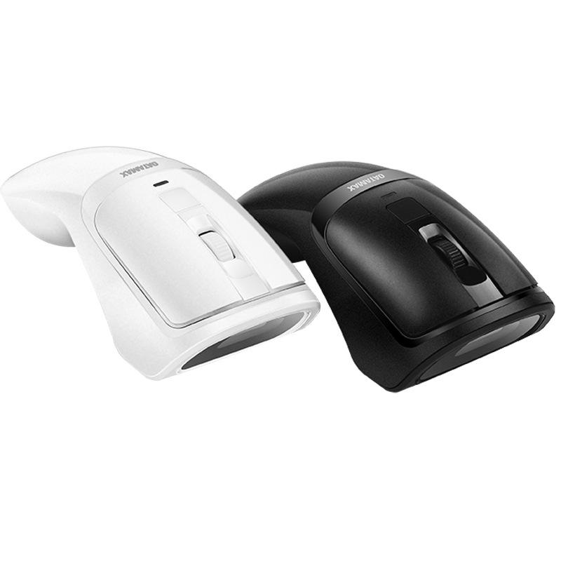 Datamax M3 2 in 1 Wireless Mouse Scanner 1D 2D Barcode Scanner QR Code Scanner Ergonomic Mouse Scanning Machine for Supermakets Shops Payment