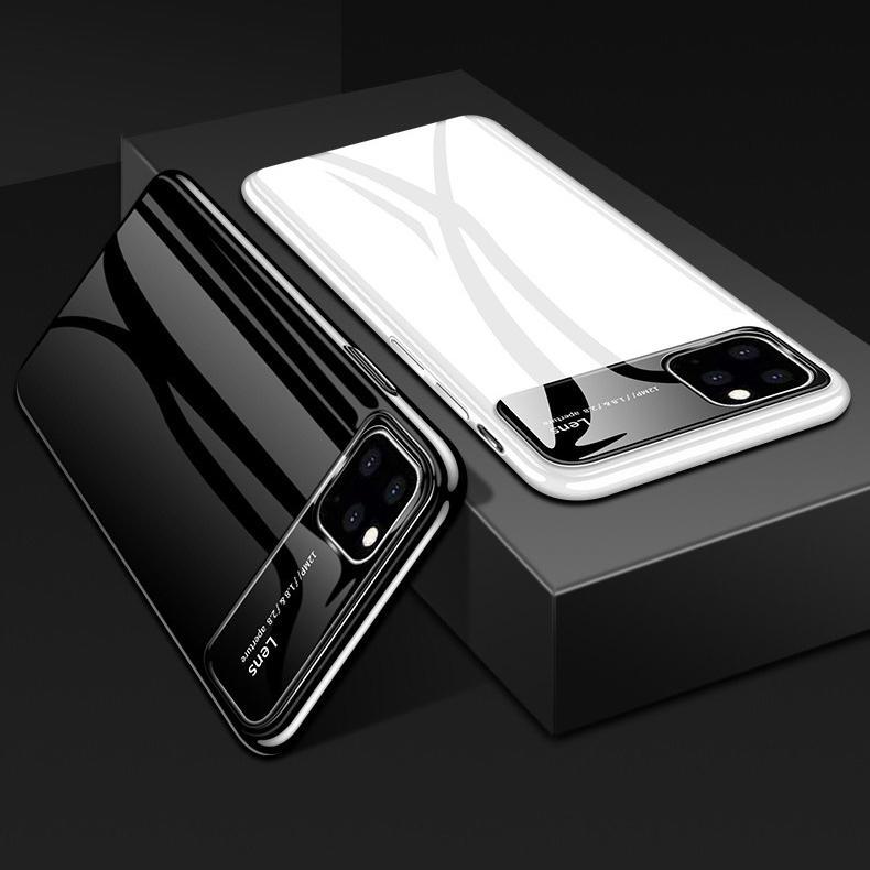Bakeey luksusbeleggingsspeil herdet glass beskyttelsesetui til iPhone 11 Pro 5,8 tommer