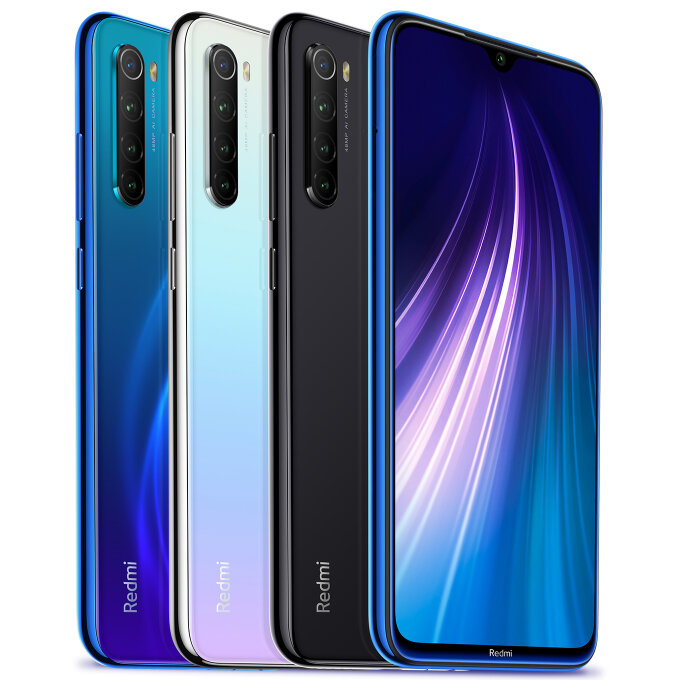 Xiaomi Redmi Note 8 4/128GB za $163.23 / ~683zł