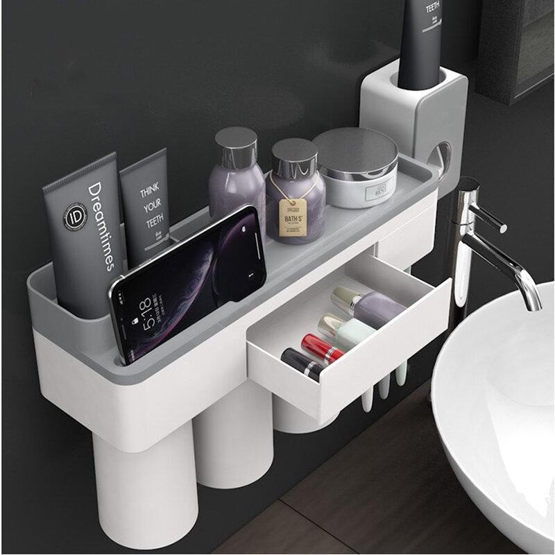 Magnetic Bathroom Toothbrush Holder