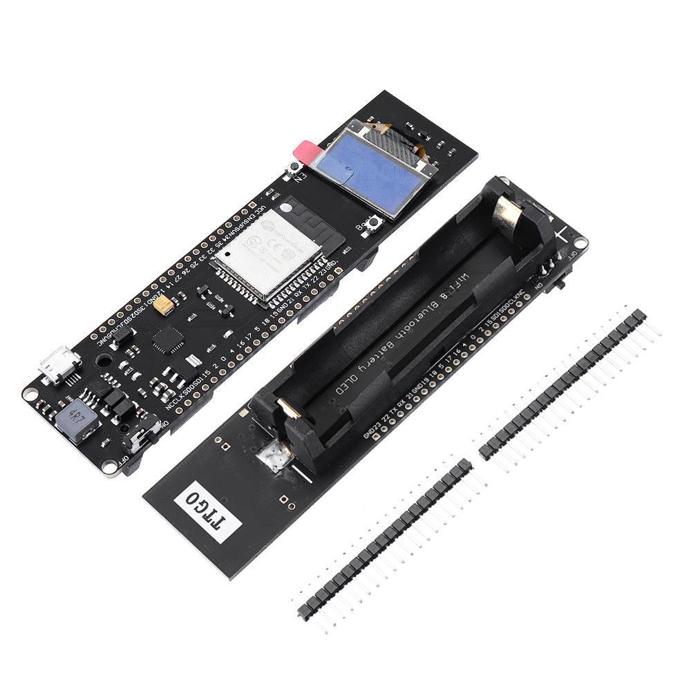 LILYGO® TTGO WiFi bluetooth Battery ESP-WROOM-32 ESP32 0.96 inch OLED Development Board