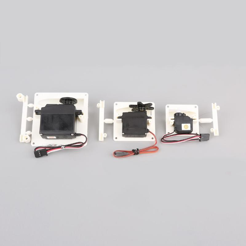 A Pair Servo Protection Cover Protector Housing Case for 6-9g/17g/36g/55g RC Servo RC Airplane Aircraft