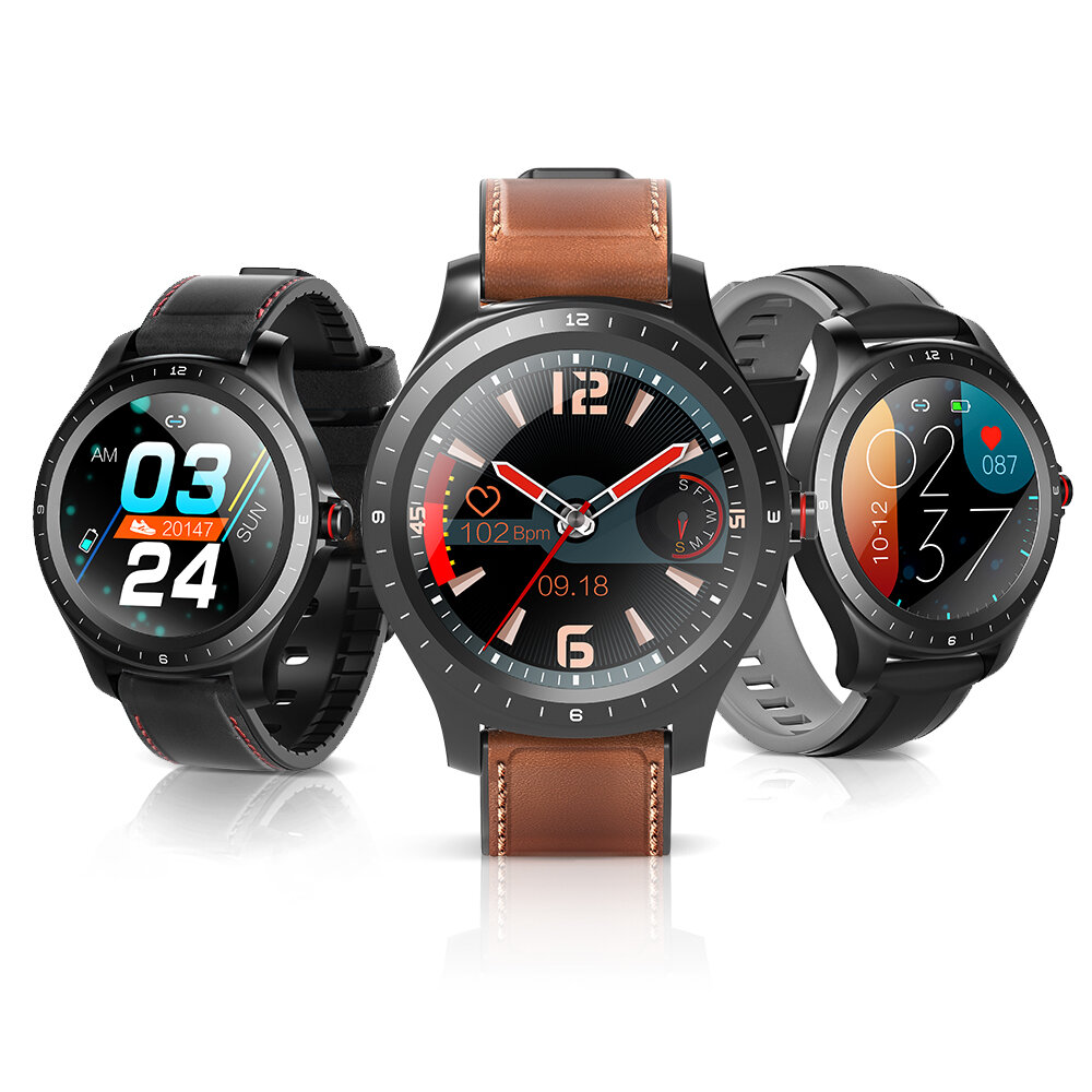 Blood Oxygen Monitor] BlitzWolf® BW_HL2 1.3_inch Full_round Touch Screen Heart Rate Blood Pressure Health Care Brightness Control BTV5.0 Smart Watch